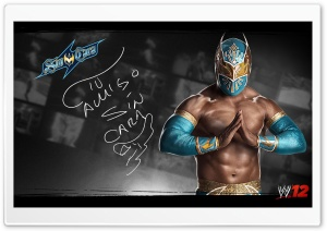 WWE 12 Sin Cara HD Wide Wallpaper for Widescreen