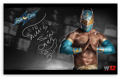 WWE 12 Sin Cara HD wallpaper for Wide 16:10 5:3 Widescreen WHXGA WQXGA WUXGA WXGA WGA ; HD 16:9 High Definition WQHD QWXGA 1080p 900p 720p QHD nHD ; Standard 3:2 Fullscreen DVGA HVGA HQVGA devices ( Apple PowerBook G4 iPhone 4 3G 3GS iPod Touch ) ; Mobile 5:3 3:2 16:9 - WGA DVGA HVGA HQVGA devices ( Apple PowerBook G4 iPhone 4 3G 3GS iPod Touch ) WQHD QWXGA 1080p 900p 720p QHD nHD ;