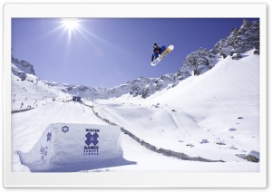 X Games Snowboarding HD Wide Wallpaper for Widescreen