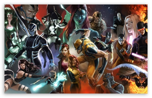 X-Men Characters HD wallpaper for Wide 16:10 5:3 Widescreen WHXGA WQXGA WUXGA WXGA WGA ; HD 16:9 High Definition WQHD QWXGA 1080p 900p 720p QHD nHD ; Mobile WVGA PSP - WVGA WQVGA Smartphone ( HTC Samsung Sony Ericsson LG Vertu MIO ) Sony PSP Zune HD Zen ;