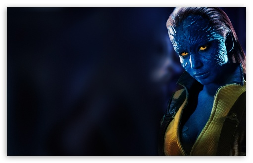 X-Men Days Of Future Past Jennifer Lawrence as Mystique HD wallpaper for Wide 16:10 5:3 Widescreen WHXGA WQXGA WUXGA WXGA WGA ; HD 16:9 High Definition WQHD QWXGA 1080p 900p 720p QHD nHD ; UHD 16:9 WQHD QWXGA 1080p 900p 720p QHD nHD ; Standard 4:3 5:4 3:2 Fullscreen UXGA XGA SVGA QSXGA SXGA DVGA HVGA HQVGA devices ( Apple PowerBook G4 iPhone 4 3G 3GS iPod Touch ) ; Tablet 1:1 ; iPad 1/2/Mini ; Mobile 4:3 5:3 3:2 5:4 - UXGA XGA SVGA WGA DVGA HVGA HQVGA devices ( Apple PowerBook G4 iPhone 4 3G 3GS iPod Touch ) QSXGA SXGA ;