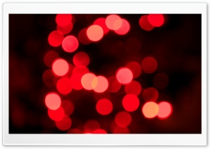Xmas Bokeh HD Wide Wallpaper for Widescreen