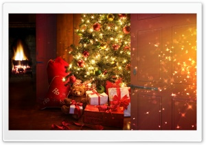 Xmas Night HD Wide Wallpaper for Widescreen