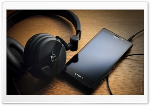 Xperia and AKG HD Wide Wallpaper for Widescreen