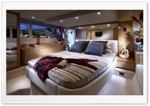 Yacht Bedroom HD Wide Wallpaper for Widescreen