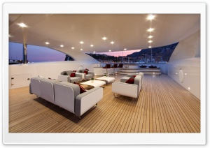 Yacht Inside HD Wide Wallpaper for Widescreen
