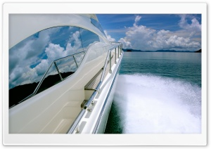 Yacht Ride HD Wide Wallpaper for Widescreen