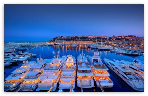 Yachts At Night HD wallpaper for Wide 16:10 5:3 Widescreen WHXGA WQXGA WUXGA WXGA WGA ; HD 16:9 High Definition WQHD QWXGA 1080p 900p 720p QHD nHD ; Mobile 5:3 16:9 - WGA WQHD QWXGA 1080p 900p 720p QHD nHD ;