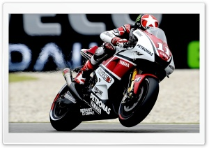 Yamaha Moto Race HD Wide Wallpaper for Widescreen