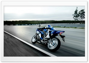 Yamaha Motorcycle HD Wide Wallpaper for Widescreen