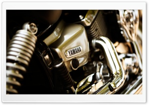 Yamaha Motorcycle Engine HD Wide Wallpaper for 4K UHD Widescreen desktop & smartphone