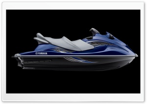Yamaha WaveRunners VX Cruiser Blue HD Wide Wallpaper for Widescreen