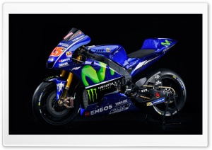 Yamaha YZR M1 Movistar 2017 Ultra HD Wallpaper for 4K UHD Widescreen desktop, tablet & smartphone