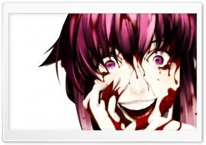 Yandere Yuno HD Wide Wallpaper for Widescreen