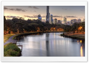 Yarra River HD Wide Wallpaper for 4K UHD Widescreen desktop & smartphone
