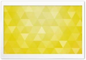 Yellow Abstract Geometric Triangle Background HD Wide Wallpaper for 4K UHD Widescreen desktop & smartphone