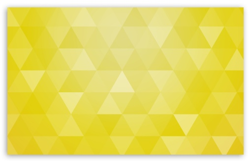 Yellow Abstract Geometric Triangle Background 4k Hd
