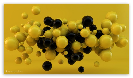 Yellow and Black Balls ❤ 4K UHD Wallpaper for 4K UHD 16:9 Ultra High Definition 2160p 1440p 1080p 900p 720p ; Tablet 1:1 ; iPad 1/2/Mini ; Mobile 4:3 5:3 3:2 16:9 - UXGA XGA SVGA WGA DVGA HVGA HQVGA ( Apple PowerBook G4 iPhone 4 3G 3GS iPod Touch ) 2160p 1440p 1080p 900p 720p ;