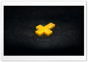 Yellow Cross HD Wide Wallpaper for Widescreen