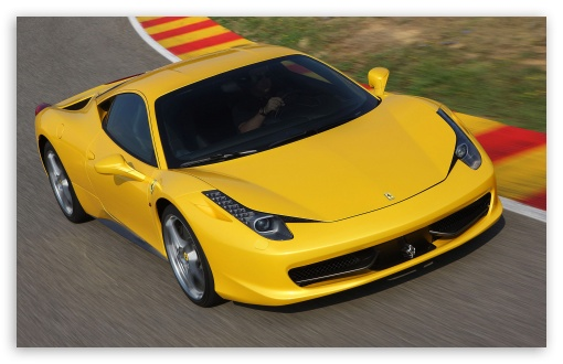 Yellow Ferrari 458 Italia   Front Angle HD wallpaper for Wide 16:10 5:3 Widescreen WHXGA WQXGA WUXGA WXGA WGA ; HD 16:9 High Definition WQHD QWXGA 1080p 900p 720p QHD nHD ; Standard 4:3 5:4 3:2 Fullscreen UXGA XGA SVGA QSXGA SXGA DVGA HVGA HQVGA devices ( Apple PowerBook G4 iPhone 4 3G 3GS iPod Touch ) ; iPad 1/2/Mini ; Mobile 4:3 5:3 3:2 16:9 5:4 - UXGA XGA SVGA WGA DVGA HVGA HQVGA devices ( Apple PowerBook G4 iPhone 4 3G 3GS iPod Touch ) WQHD QWXGA 1080p 900p 720p QHD nHD QSXGA SXGA ;