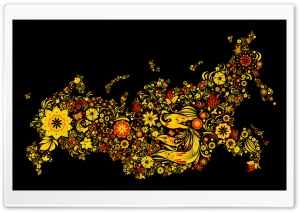 Yellow Flowers Background HD Wide Wallpaper for Widescreen