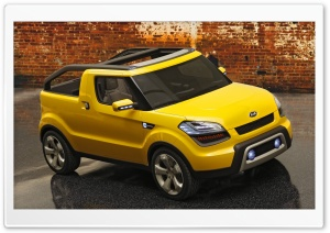 Yellow Kia 1 HD Wide Wallpaper for Widescreen