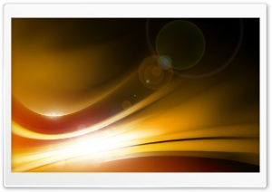 Yellow Light HD Wide Wallpaper for Widescreen