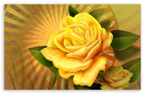 Yellow Roses Illustration ❤ 4K UHD Wallpaper for Wide 16:10 5:3 Widescreen WHXGA WQXGA WUXGA WXGA WGA ; 4K UHD 16:9 Ultra High Definition 2160p 1440p 1080p 900p 720p ; Standard 4:3 3:2 Fullscreen UXGA XGA SVGA DVGA HVGA HQVGA ( Apple PowerBook G4 iPhone 4 3G 3GS iPod Touch ) ; iPad 1/2/Mini ; Mobile 4:3 5:3 3:2 16:9 - UXGA XGA SVGA WGA DVGA HVGA HQVGA ( Apple PowerBook G4 iPhone 4 3G 3GS iPod Touch ) 2160p 1440p 1080p 900p 720p ;