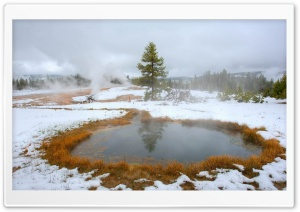 Yellowstone Hot Lakes HD Wide Wallpaper for Widescreen