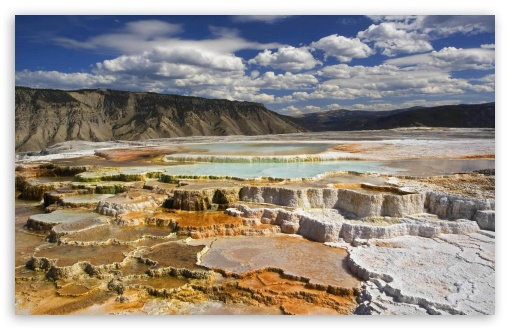 Yellowstone National Park Chalk Terraces HD wallpaper for Wide 16:10 5:3 Widescreen WHXGA WQXGA WUXGA WXGA WGA ; HD 16:9 High Definition WQHD QWXGA 1080p 900p 720p QHD nHD ; Standard 4:3 5:4 3:2 Fullscreen UXGA XGA SVGA QSXGA SXGA DVGA HVGA HQVGA devices ( Apple PowerBook G4 iPhone 4 3G 3GS iPod Touch ) ; Tablet 1:1 ; iPad 1/2/Mini ; Mobile 4:3 5:3 3:2 16:9 5:4 - UXGA XGA SVGA WGA DVGA HVGA HQVGA devices ( Apple PowerBook G4 iPhone 4 3G 3GS iPod Touch ) WQHD QWXGA 1080p 900p 720p QHD nHD QSXGA SXGA ; Dual 4:3 5:4 UXGA XGA SVGA QSXGA SXGA ;