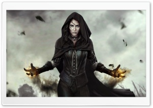 Yennefer The Witcher 3 Wild Hunt HD Wide Wallpaper for Widescreen