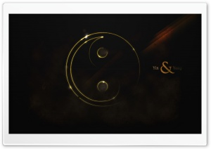 Yin And Yang HD Wide Wallpaper for Widescreen