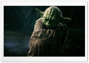 Yoda HD Wide Wallpaper for Widescreen