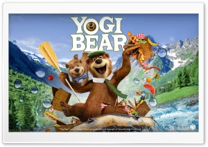 Yogi Bear HD Wide Wallpaper for Widescreen