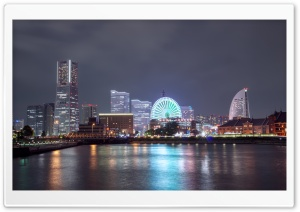 Yokohama City, Japan HD Wide Wallpaper for 4K UHD Widescreen desktop & smartphone