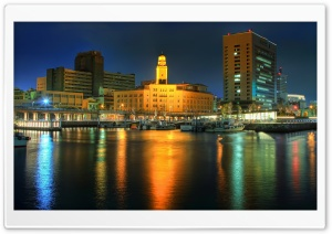 Yokohama Customs Building HD Wide Wallpaper for Widescreen