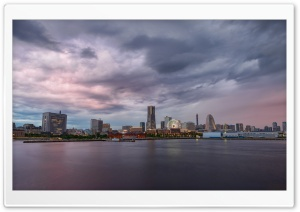 Yokohama Skyline HD Wide Wallpaper for Widescreen