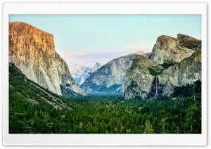 Yosemite Morning HD Wide Wallpaper for Widescreen