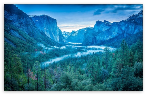 yosemite national park fog -#main