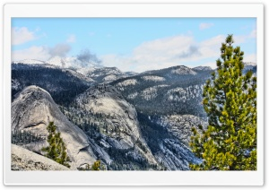 Yosemite National Park Glacier Point HD Wide Wallpaper for Widescreen