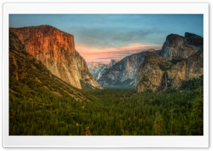 Yosemite Valley View HD Wide Wallpaper for Widescreen