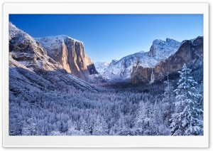 Yosemite Winter Photography Ultra HD Wallpaper for 4K UHD Widescreen desktop, tablet & smartphone