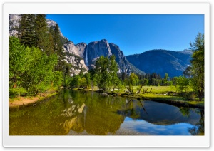 Yosemity National Park Valley HD Wide Wallpaper for Widescreen