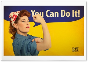 You Can Do It HD Wide Wallpaper for Widescreen