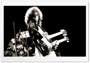 Young Jimmy Page HD Wide Wallpaper for 4K UHD Widescreen desktop & smartphone