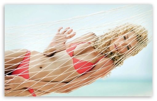 Young Woman Relaxing In A Hammock HD wallpaper for Wide 16:10 5:3 Widescreen WHXGA WQXGA WUXGA WXGA WGA ; HD 16:9 High Definition WQHD QWXGA 1080p 900p 720p QHD nHD ; Standard 4:3 3:2 Fullscreen UXGA XGA SVGA DVGA HVGA HQVGA devices ( Apple PowerBook G4 iPhone 4 3G 3GS iPod Touch ) ; iPad 1/2/Mini ; Mobile 4:3 5:3 3:2 16:9 - UXGA XGA SVGA WGA DVGA HVGA HQVGA devices ( Apple PowerBook G4 iPhone 4 3G 3GS iPod Touch ) WQHD QWXGA 1080p 900p 720p QHD nHD ;