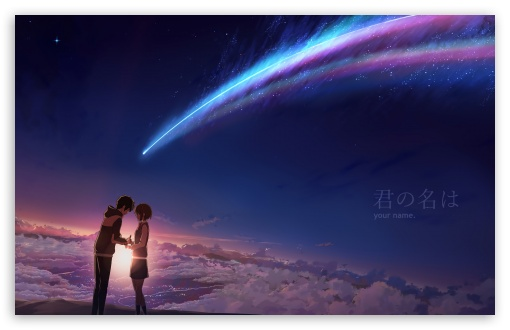 Your Name Ultra Hd Desktop Background Wallpaper For Widescreen Ultrawide Desktop Laptop Multi Display Dual Monitor Tablet Smartphone