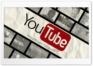 YouTube Broadcast Yourself HD Wide Wallpaper for Widescreen