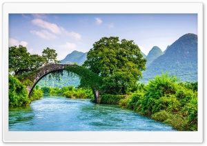 Yulong Bridge, China Ultra HD Wallpaper for 4K UHD Widescreen desktop, tablet & smartphone
