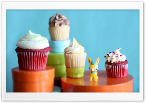Yummy Cupcakes Ultra HD Wallpaper for 4K UHD Widescreen desktop, tablet & smartphone